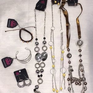 Paparazzi Jewelry Lot/ Bundle Necklaces Earrings